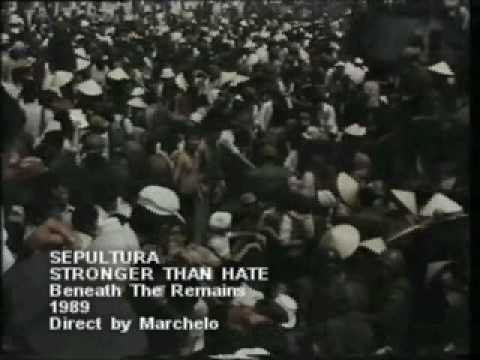 Sepultura – Stronger Than Hate