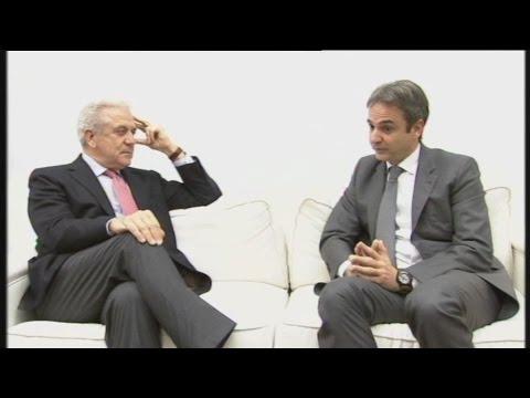 Μητσοτάκης-Αβραμόπουλος: Συνάντηση για την Ν.Δ. και το μεταναστευτικό