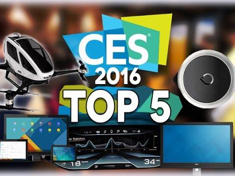 Top 5 du CES 2016 - Test Mobile