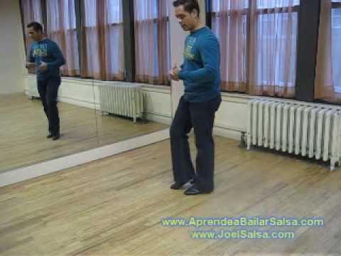 Diferencia entre bailar salsa on1 y salsa on2 Step