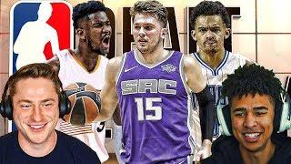 WAY TOO EARLY 2018 NBA MOCK DRAFT! Coast2Coast Podcast #2