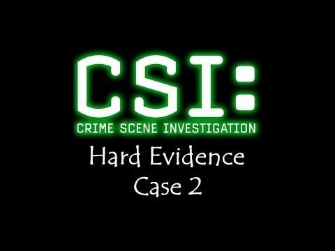 CSI - Hard Evidence - Case 2 - Gameplay - Walkthrough - NO COMMENTARY
