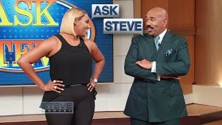 Video Ask Steve: Get rid of her!!!    STEVE HARVEY MP3, 3GP, MP4, WEBM, AVI, FLV April 2018