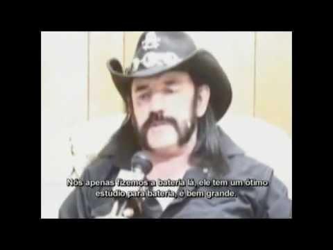 Entrevista Motörhead 2008