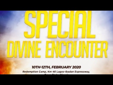 RCCG SPECIAL DIVINE ENCOUNTER 2020 - DAY 3