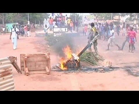 Κεντροαφρικανική Δημοκρατία: Διαδήλωση μετά τις βίαιες ταραχές