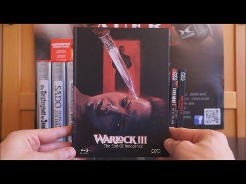 WARLOCK III - THE END OF INNOCENCE (AT Blu-ray Mediabook Cover B) / Zockis Sammelsurium Nr. 1391
