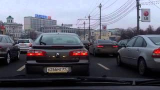 Zamoskvorechye - Tverskoy 8/01/2012 (timelapse 4x)