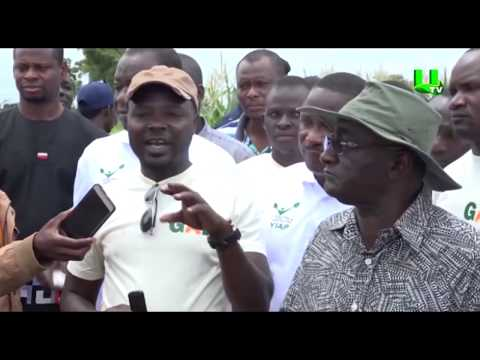 Ayekoo: Agric Minister Inspects Ongoing Projects In Northern Region