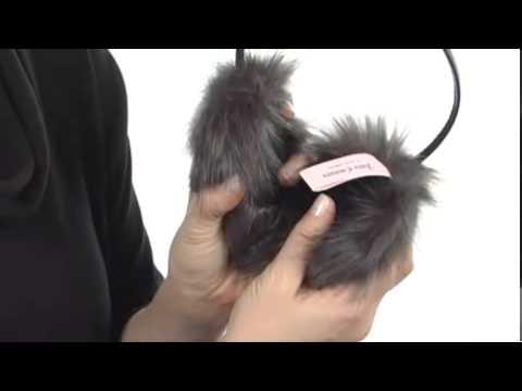 Juicy Couture Faux Fur Earmuff Headphone SKU:#8052172