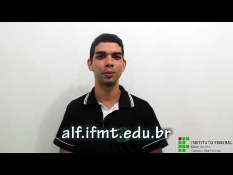 Vídeo de divulgação do Exame de Seleção 2017/1 para o Curso Técnico em Logística Subsequente - Campus Alta Floresta