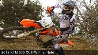 6. MotoUSA First Ride:  2012 KTM 350 XCF-W