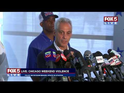 FOX 5 LIVE (8/6): Chicago Mayor Rahm Emanuel makes emotional remarks on Chicago violence