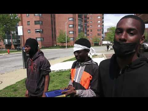BALTIMORE STREET INTERVIEW WITH YOUTH / COVID 19 DISCUSSION