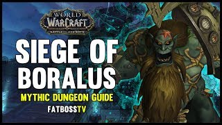 Siege of Boralus Mythic Dungeon Guide - FATBOSS