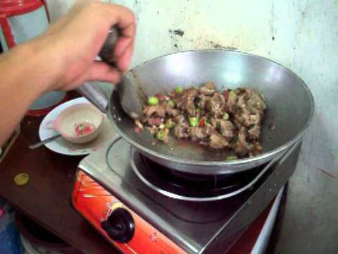 Cooking Snake Adobo with Hot Chili – Asian Dish