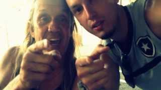 Nicko McBrain - Iron Maiden - Quero Copa do Brasil - Botafogo.
