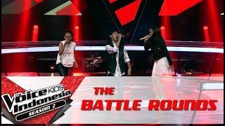 "Video Efah & Yonathan & Zahwa ""Dream On"" | Battle Rounds | The Voice Kids Indonesia Season 2 GTV 2017 MP3, 3GP, MP4, WEBM, AVI, FLV Juni 2018"