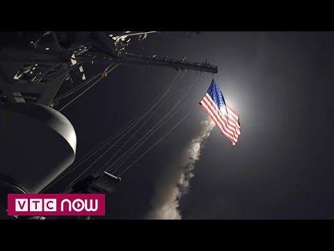 Mỹ đã bắn bao nhiêu tên lửa vào Syria? | VTC1 - Thời lượng: 110 giây.