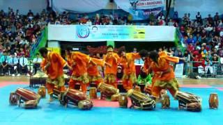 Rampak Kendang H. Umuh Cup 2015 LSS ITB Video
