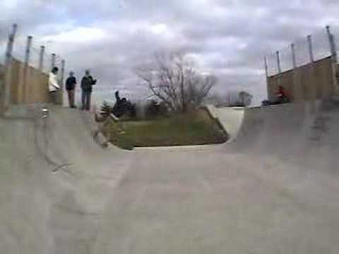 clinton, mo skatepark session.