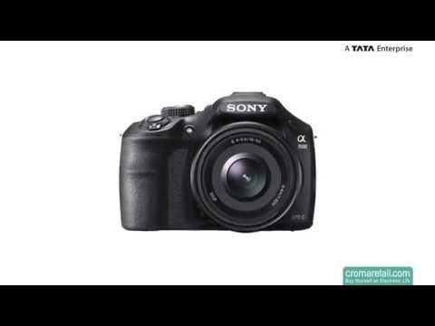 Sony ILCE-3500J 20.1 MP Digital SLR Camera (Black)