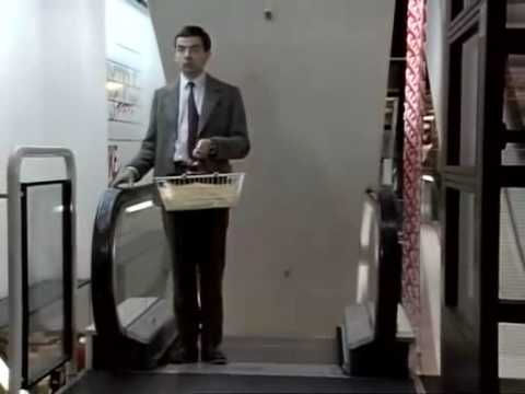 shopping - Mr. Bean --- shopping.