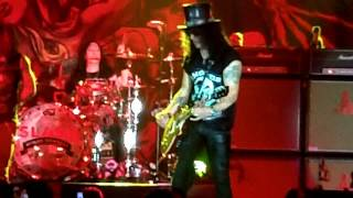 Slash, Sweet Child O' Mine In Brasília/Brazil 04.11.2012