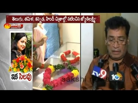 Senior Actress Jyothi Lakshmi Passess Away || Her Husband Face to Face - Watch Exclusive