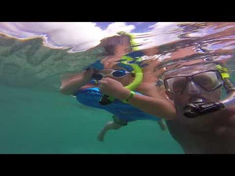 Snorkeling at Grand Riviera Princess Riviera Maya Mexico