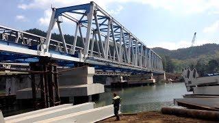 Video EX JALUR REL SDS PATIKRAJA-KEBASEN DIPAKE LAGI Jln. Darurat Proyek Jembatan  & Terowongan 2 Track MP3, 3GP, MP4, WEBM, AVI, FLV Agustus 2018