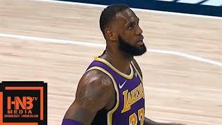 Los Angeles Lakers vs Indiana Pacers 1st Half Highlights | 02/05/2019 NBA Season