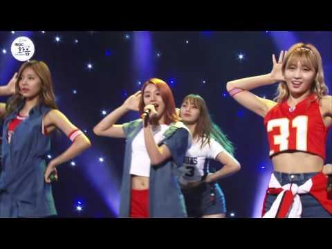TWICE - CheerUp , 트와이스 - CheerUp [2016 Live MBC harmony with 박지윤의 FM데이트]