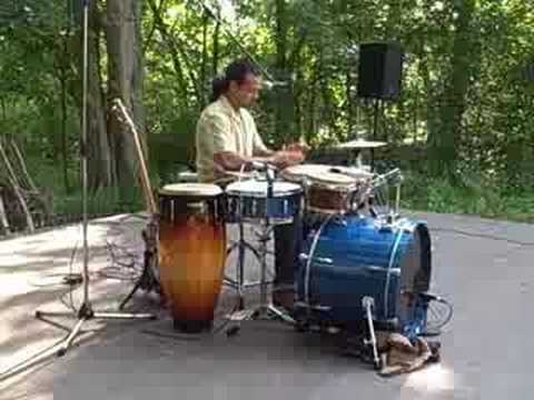 Multi-percussion by Michel DeQuevedo. clip 1