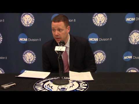 Northwood University Women's Basketball (2/21/15) Northern Michigan 65, NU 44 - Press Conference