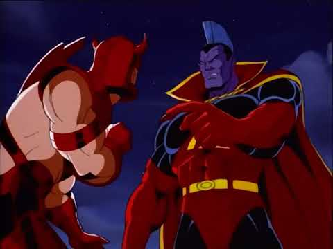 X - MEN Gladiator VS Juggernaut / Gladiator Original Voice !