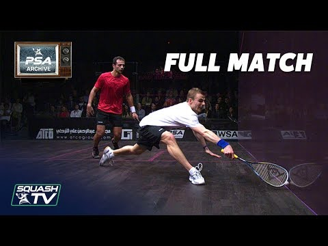 Squash Archive: Shabana v Matthew - 2012/13 World Tour Finals