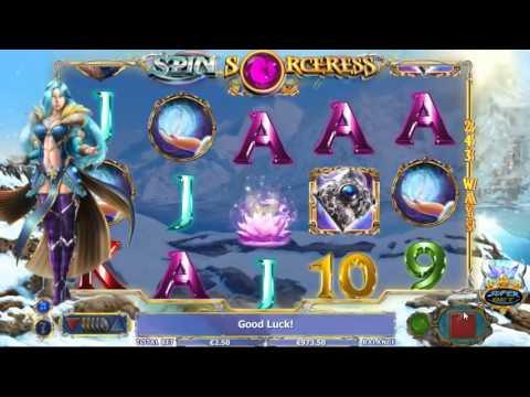 Spin Sorceress slot by NextGen Gaming - Gameplay