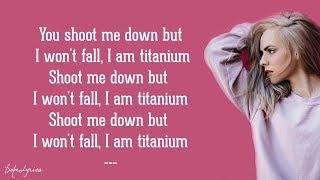 Video Madilyn Bailey - Titanium (Lyrics) MP3, 3GP, MP4, WEBM, AVI, FLV Juni 2018