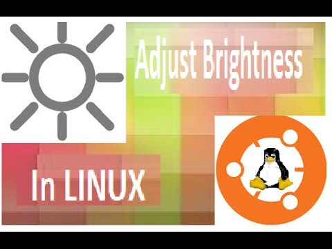 how to adjust brightness in ubuntu 10.04