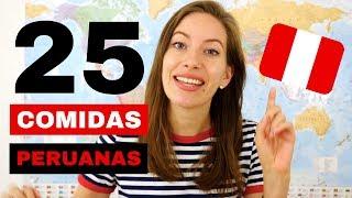 25 PLATOS PERUANOS QUE HAY QUE PROBAR