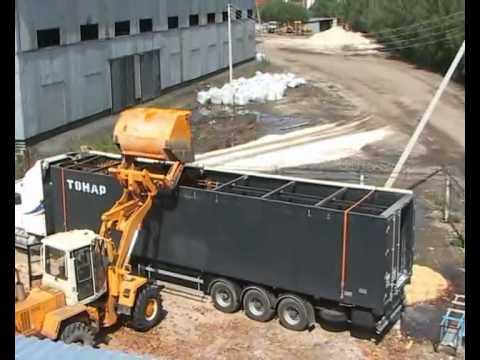 На сегодня основное направление деятельности нашей компании - услуги щеповоза - перевозка