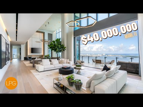 This ULTRA EXPENSIVE Miami Penthouse Has a KILLER Feature!