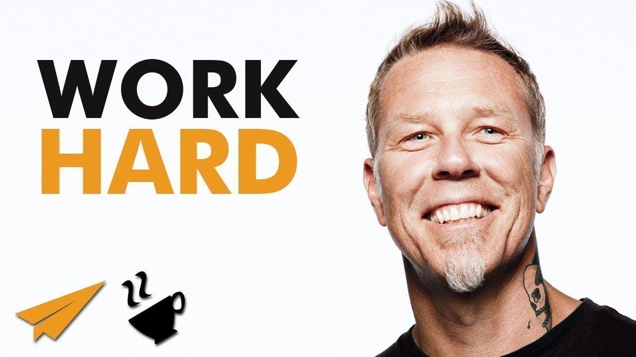 Work Hard - James Hetfield - #Entspresso