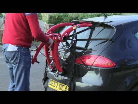How to fit a car rack to a car