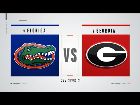 Video: 9 Florida at 7 Georgia preview