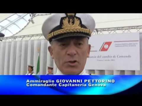 GENOVA : CAMBIO DELLA GUARDIA ALLA CAPITANERIA DI PORTO