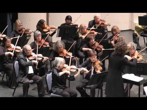 Sibelius: King Christian II Suite, Op. 27 - I. Nocturne - Diablo Symphony Orchestra