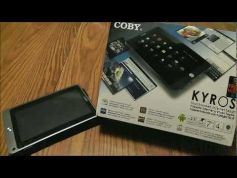 Coby Kyros 7-Inch Android 4.0 4 GB Internet Tablet 16:9 Multi-Touch Widescreen Camera review