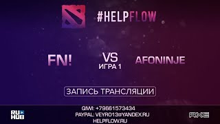 Fn! vs Afoninje, Flow Tournament 1x1, game 1 [Adekvat, Inmate]
